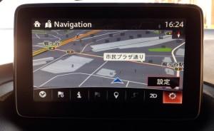 【新型アクセラ】マツダコネクト トンネルビューの設定1