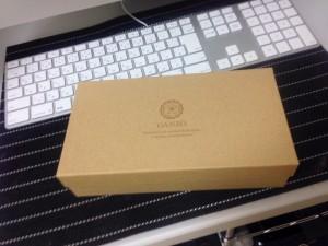 GANZO(ガンゾ)財布の箱