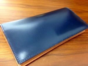 GANZO(ガンゾ)シンブライドル長財布エイジング1カ月