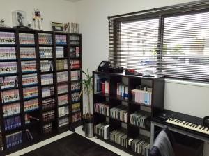 ニトリの本棚
