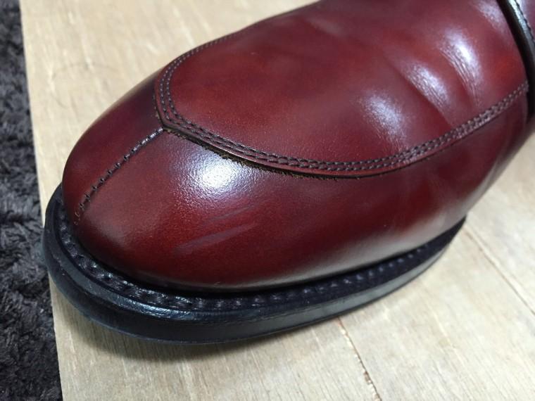 【靴磨き】リーガル06CRビフォー