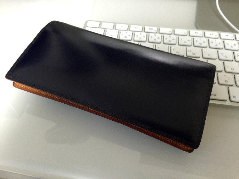 GANZO(ガンゾ)シンブライドル長財布