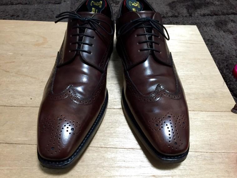 【靴磨き】リーガル12GR完了