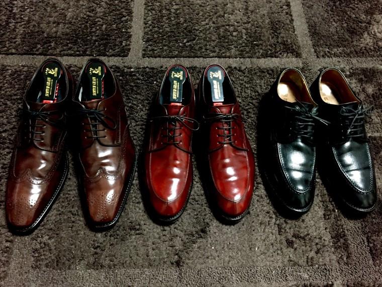 リーガルの革靴(12GR・06CR・Y514)
