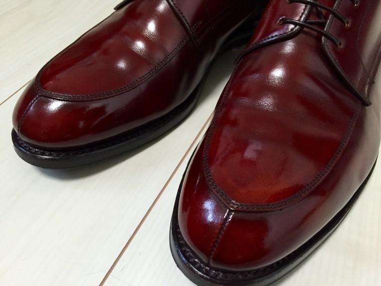 【靴磨き】ハイシャイン成功3