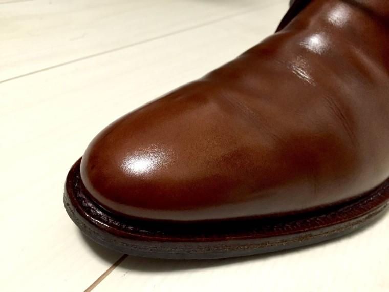 【靴磨き】ハイシャイン仕上げ挑戦(ジャランスリワヤ98322)2