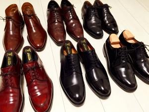 6足の革靴20150506_2