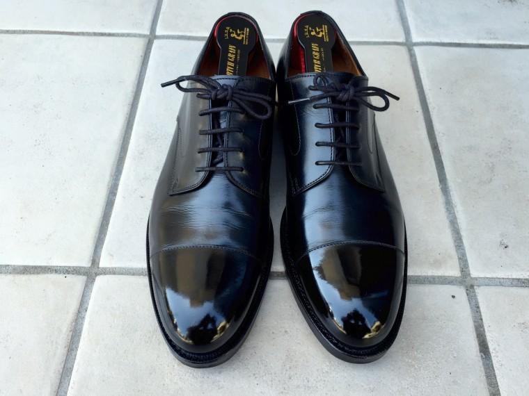 ジャランスリワヤ ストレートチップ(靴磨き後)2