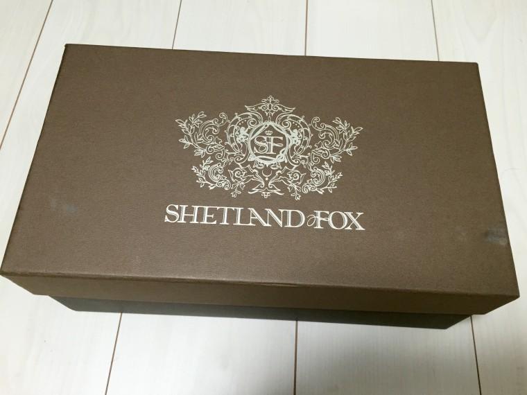 シェットランドフォックスの箱