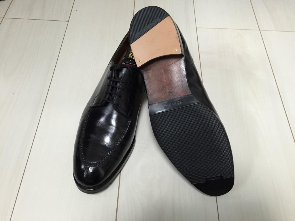革靴】初めての革底を初めて ...
