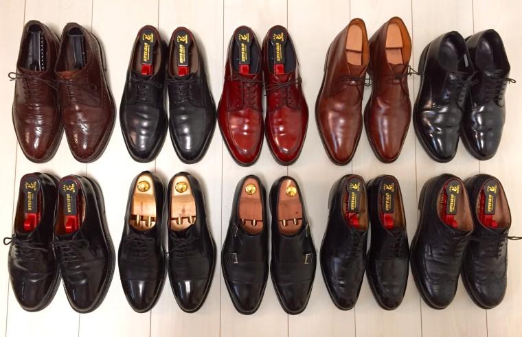 革靴コレクション001