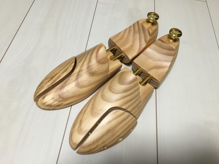 スーツセレクト木製シューツリー