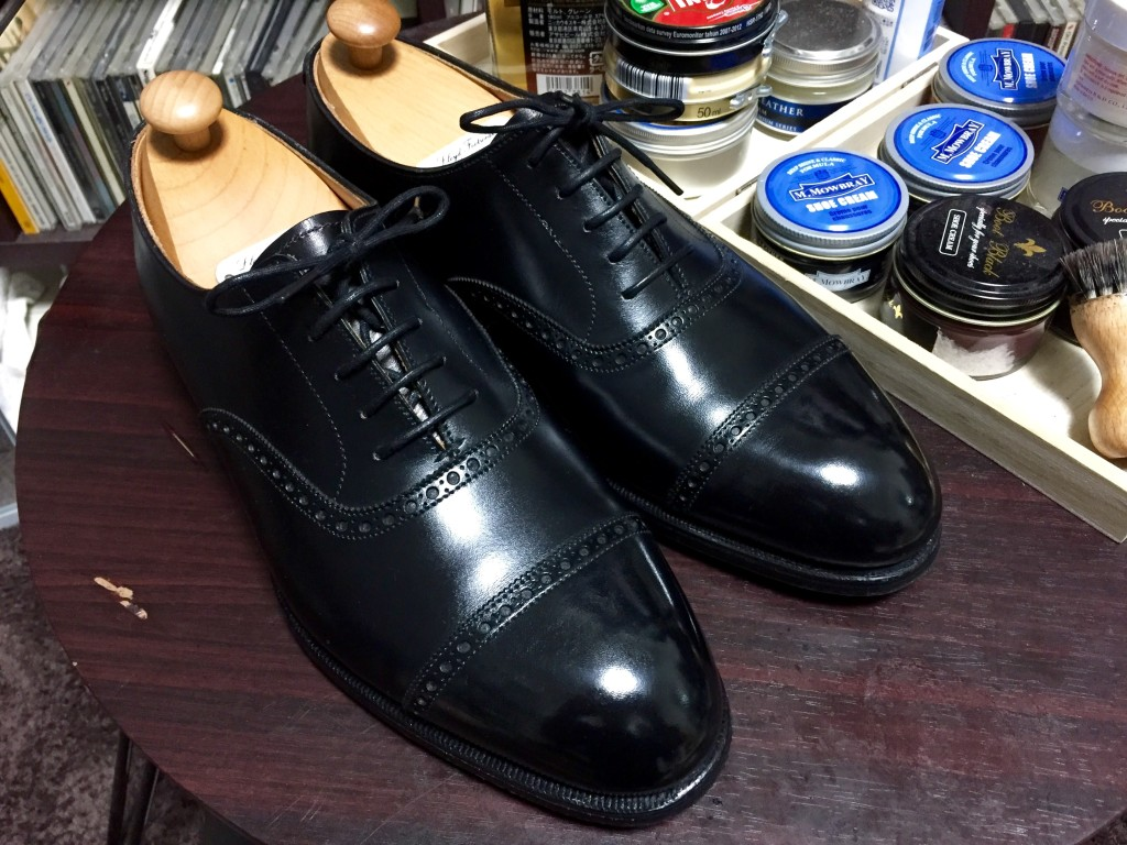 マスターロイド靴磨き