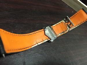 タグホイヤー純正革ベルト
