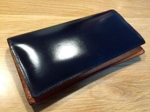 GANZO(ガンゾ)の長財布のエイジング_2年経過