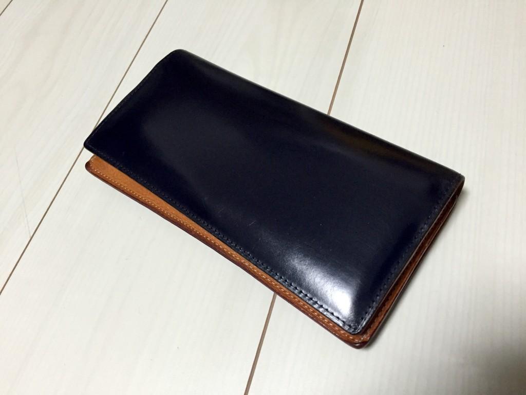 GANZO(ガンゾ)の長財布のエイジング_2年経過4
