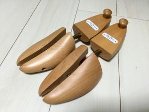 ロイドフットウェアの木製シューツリーをヤフオクで購入