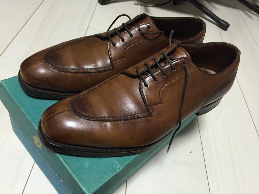 靴磨き前のドーバー