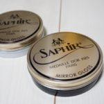 サフィールのミラーグロス(SAPHIR MIRROR GLOSS)のブラックを購入