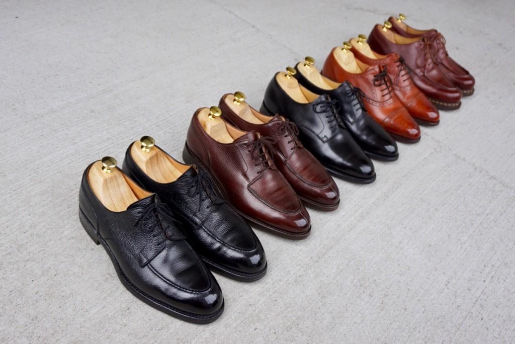 私の雨靴5足