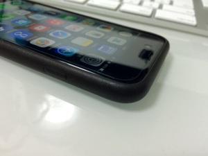 iPhone6 アップル純正レザーケース(側面)