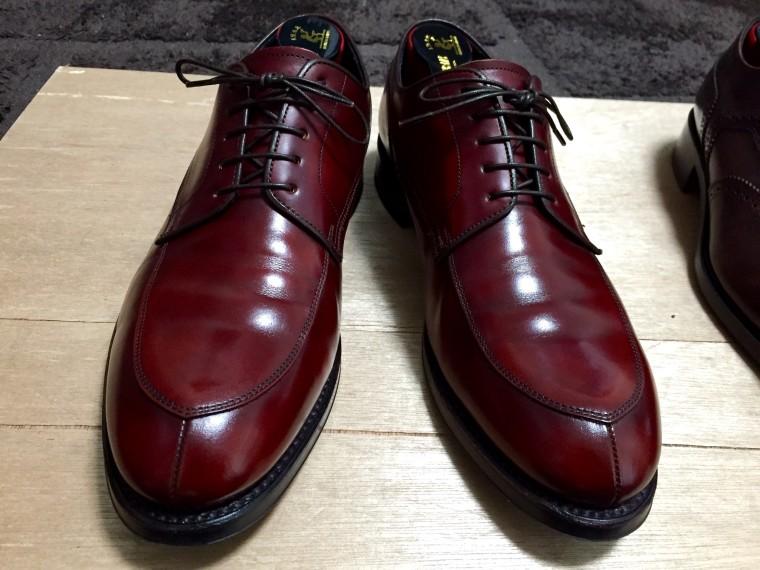 【靴磨き】リーガル06CR完了