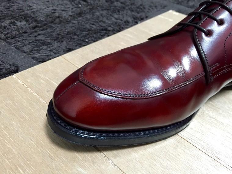 【靴磨き】リーガル06CRアフター