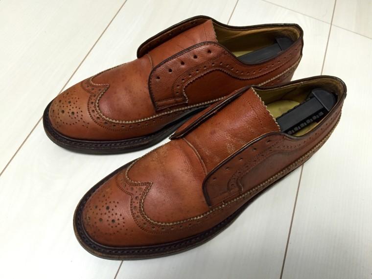 革靴丸洗い すっぴんのリーガル2235