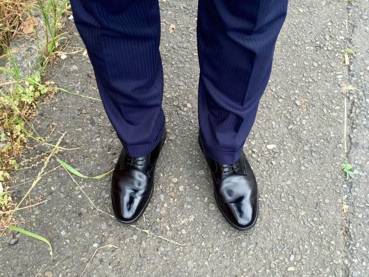 リーガル プレーントゥW254&スーツ