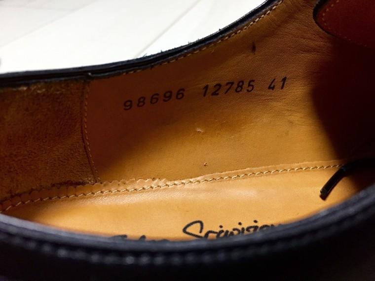 ジャランスリワヤ ストレートチップ(ユナイテッドアローズ別注)98696 インソール型番