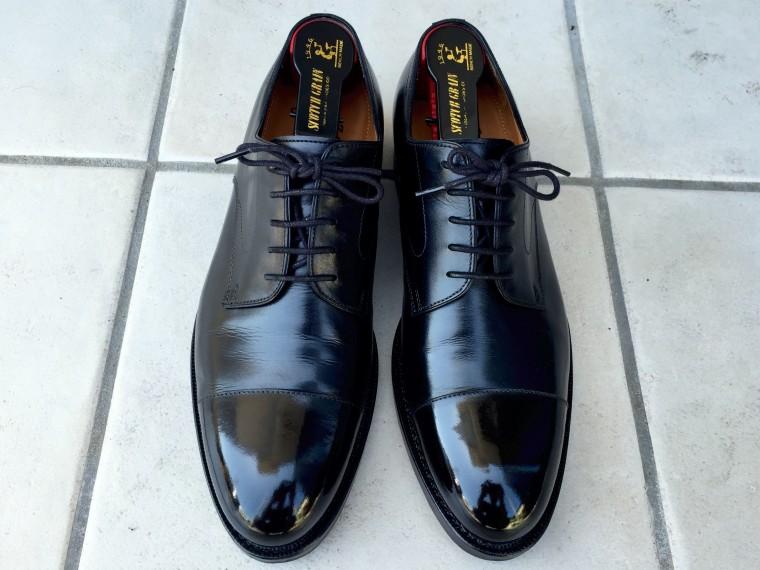 ジャランスリワヤ ストレートチップ(靴磨き後)