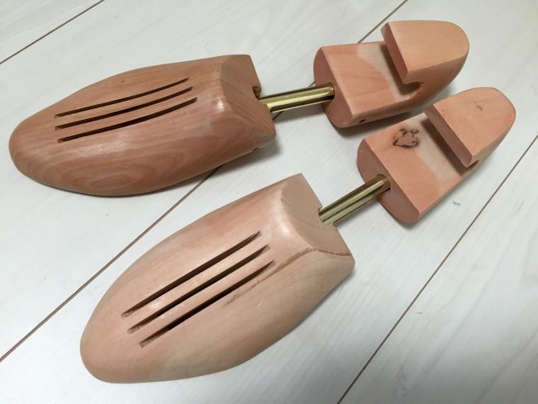ライフバリュー木製シューツリー購入