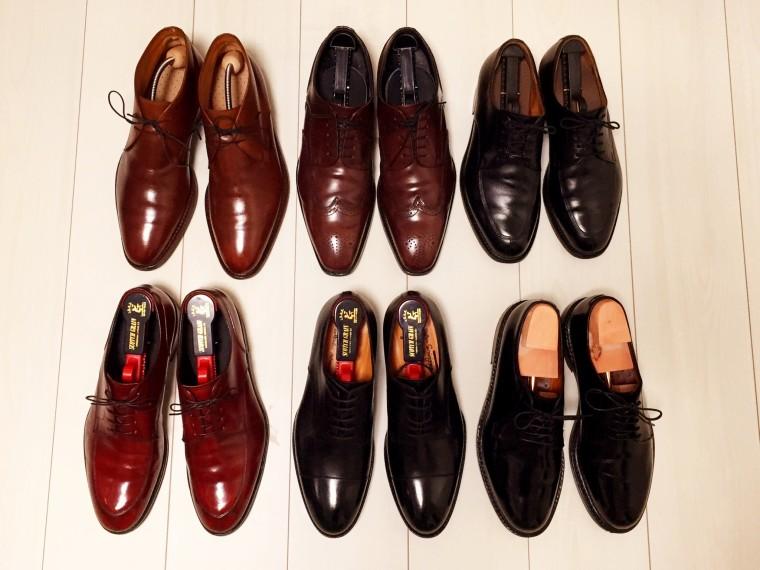 6足の革靴20150506