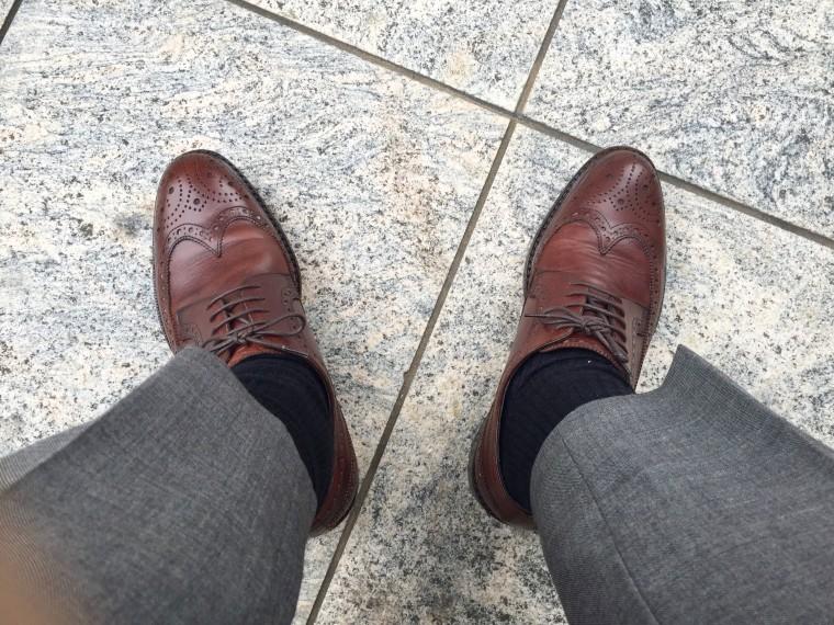 ジャランスリワヤ(98652)の履き皺