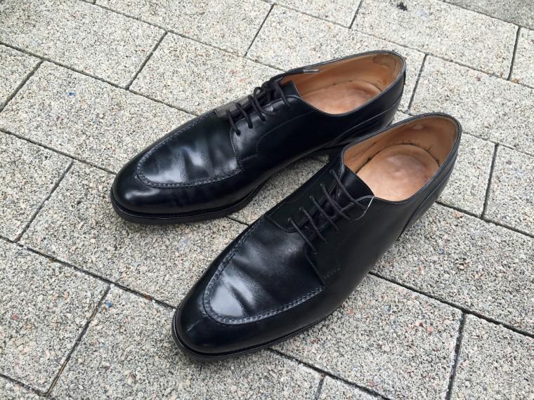 ロイドフットウェア(靴磨き前)