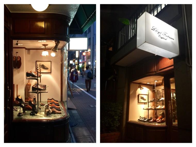 ロイドフットウェア店舗(銀座店、青山店)