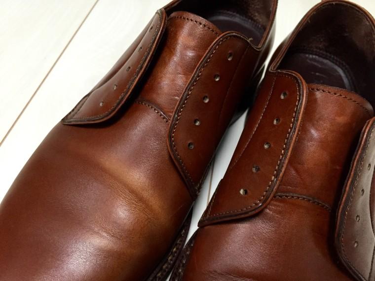 ジャランスリワヤ プレーントゥ(98651)靴磨き前