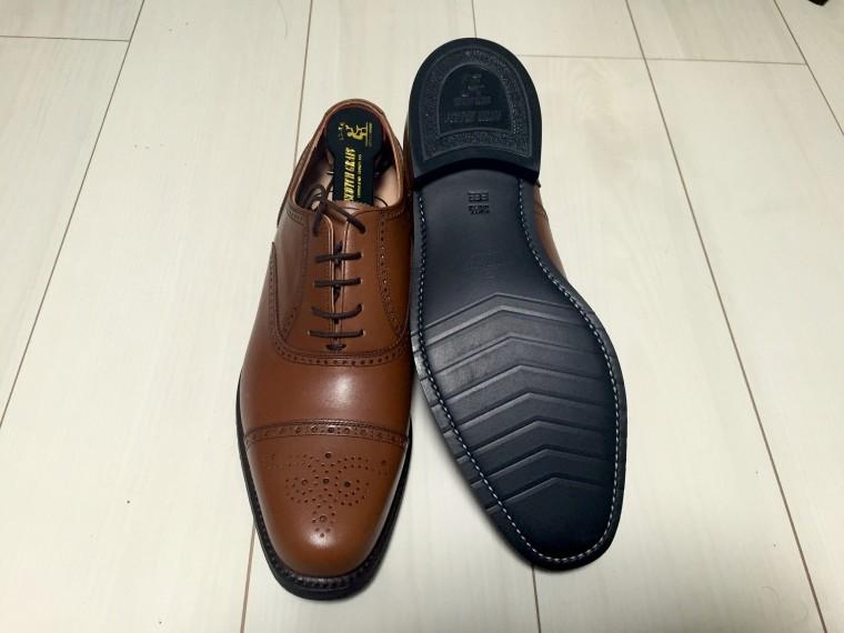 スコッチグレイン セミブローグ(ファミリーセール限定企画品)靴底