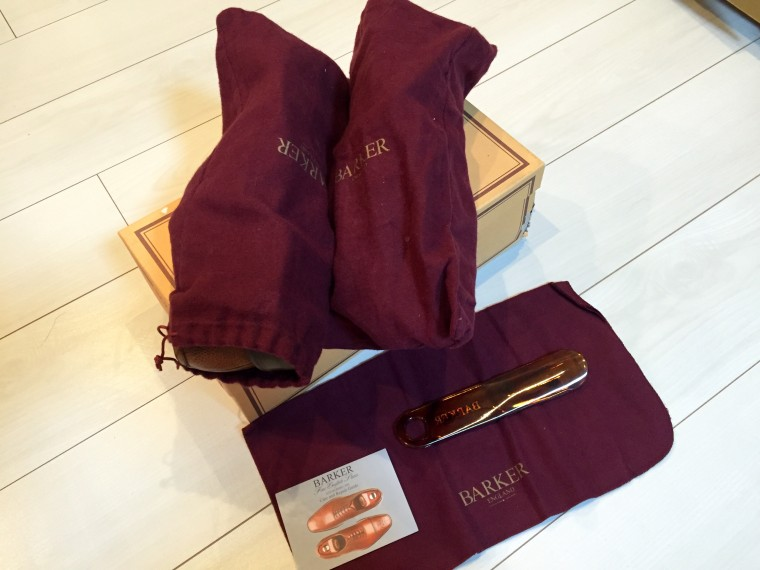 バーカー靴袋&シューホーン