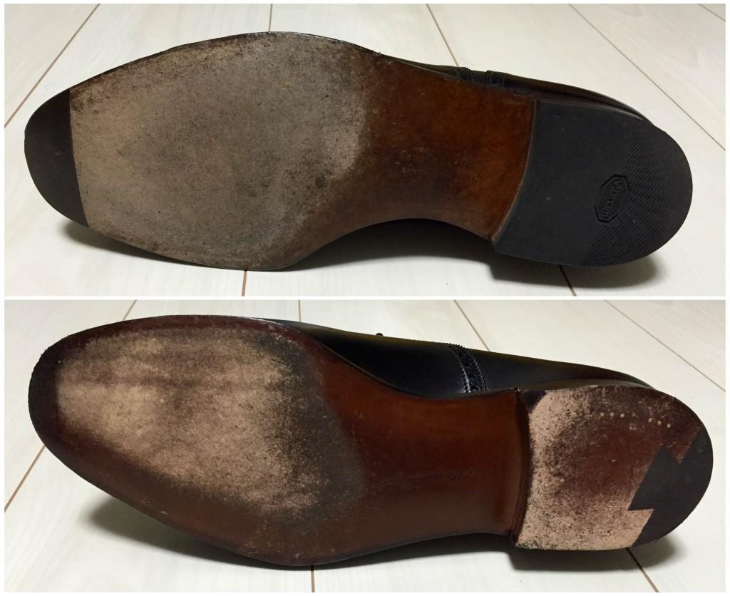 マスターロイドとクロケットのハンドグレード比較(靴底)