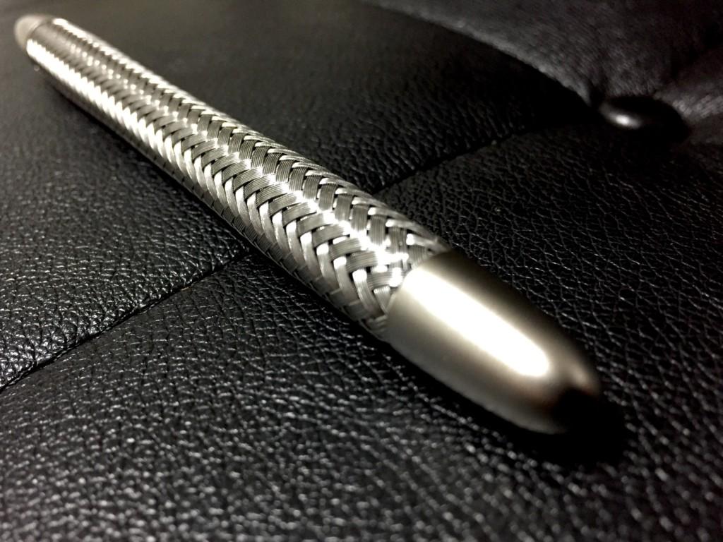 ポルシェデザイン P3310 テックフレックス ボールペン(ファーバーカステル製)_キャップ