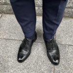 ロイドフットウェア Mシリーズのフルブローグとスーツ