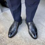 今週の靴~マスターロイドのウェルハムを雨の日に履いてしまった・・・【2/19週】