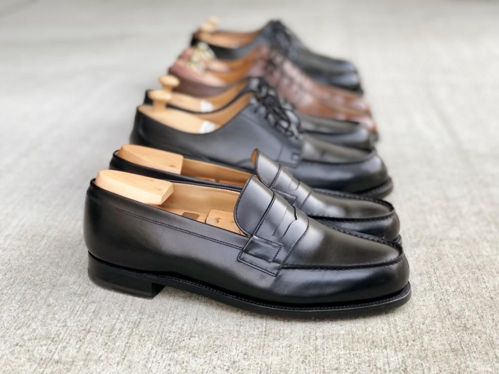 JMウエストンの靴4足