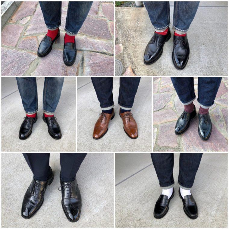 【土日版】今週の靴〜JMウェストン週間完全達成