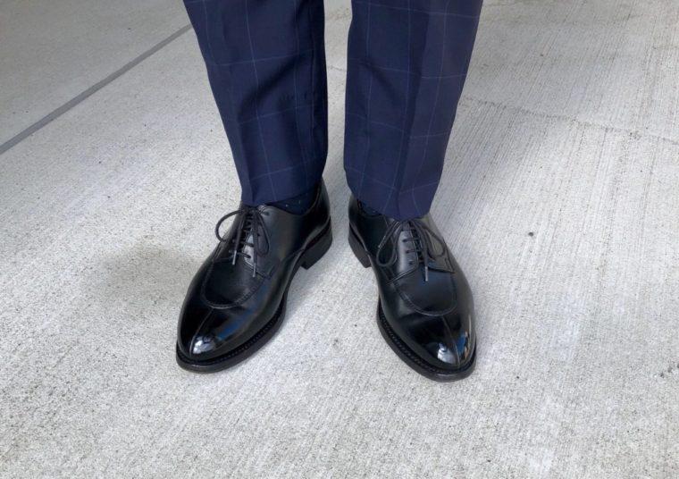 今週の靴〜梅雨なんで空も気分もモヤモヤ