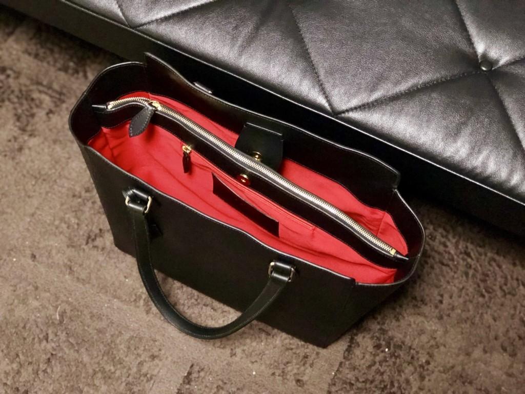 BOLDRINI SELLERIA(ボルドリーニ セレリア)のトートバッグ_赤い内装