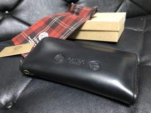 GANZO(ガンゾ)GH5 ラウンドファスナー 長財布_箱と袋一式