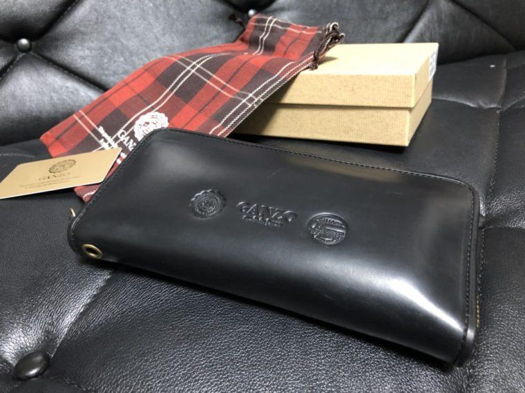 GANZO(ガンゾ)GH5 ラウンドファスナー 長財布を購入