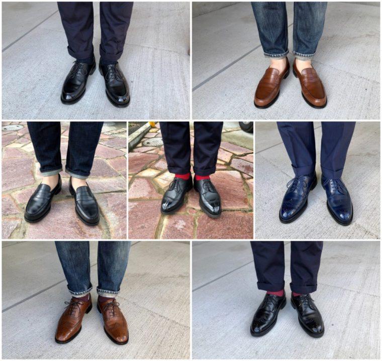 今週の靴〜完全JMウェストン週間達成(7日間)